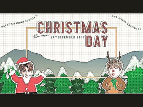 Видеоклип на песню Chrisas Day (Jimin & Jungkook) - [Thai ver] JK & JIMIN - CHRISTMAS DAY by JaejahRed #HBDEuysieeT.