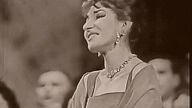 "Видеоклип на песню Finally (feat. Diva Vocal) - Maria Callas, ""Casta diva"""