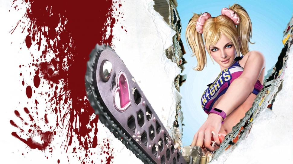 Lollipop chainsaw ost - one-two- three- four фото