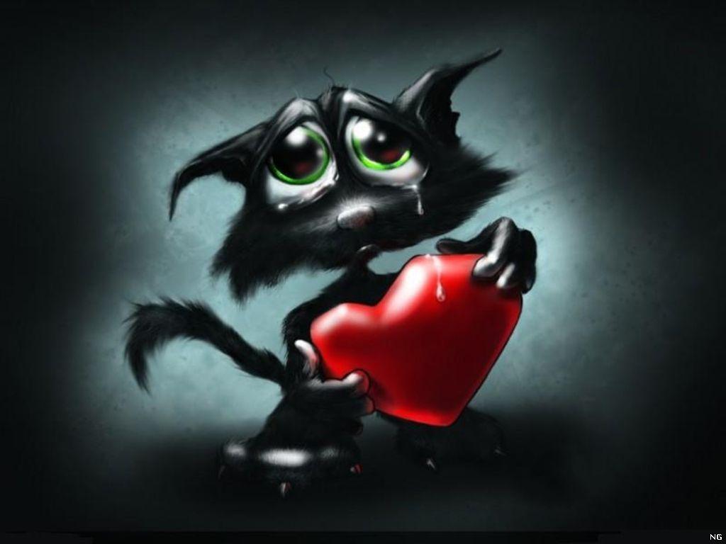 Мобильную открытку, картинки сердце плачет